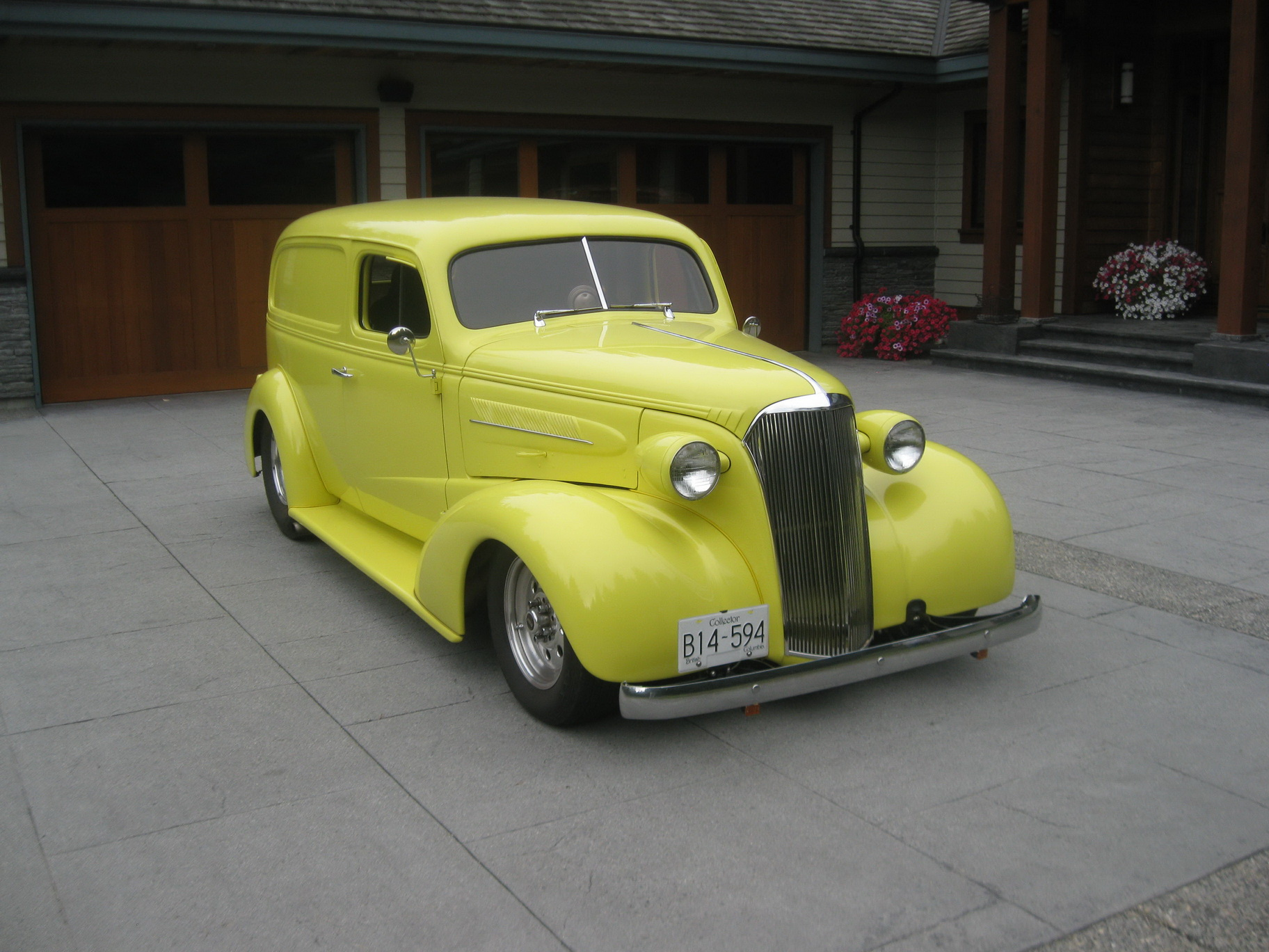 1937 Chevrolet Sedan Delivery Streetrod The Rod God