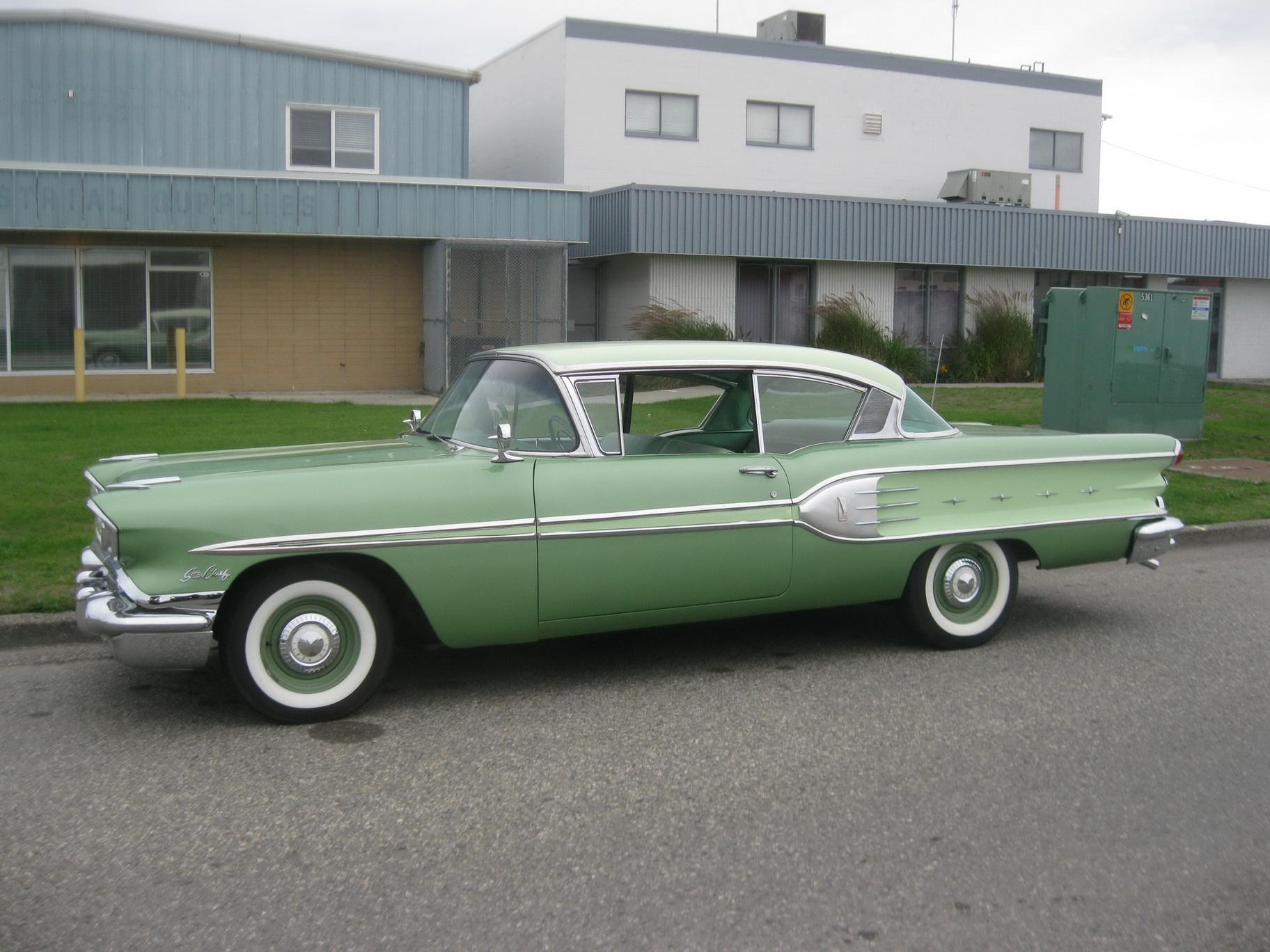 1958 Pontiac Star Chief Hardtop American Model The Rod God 1960 1 24