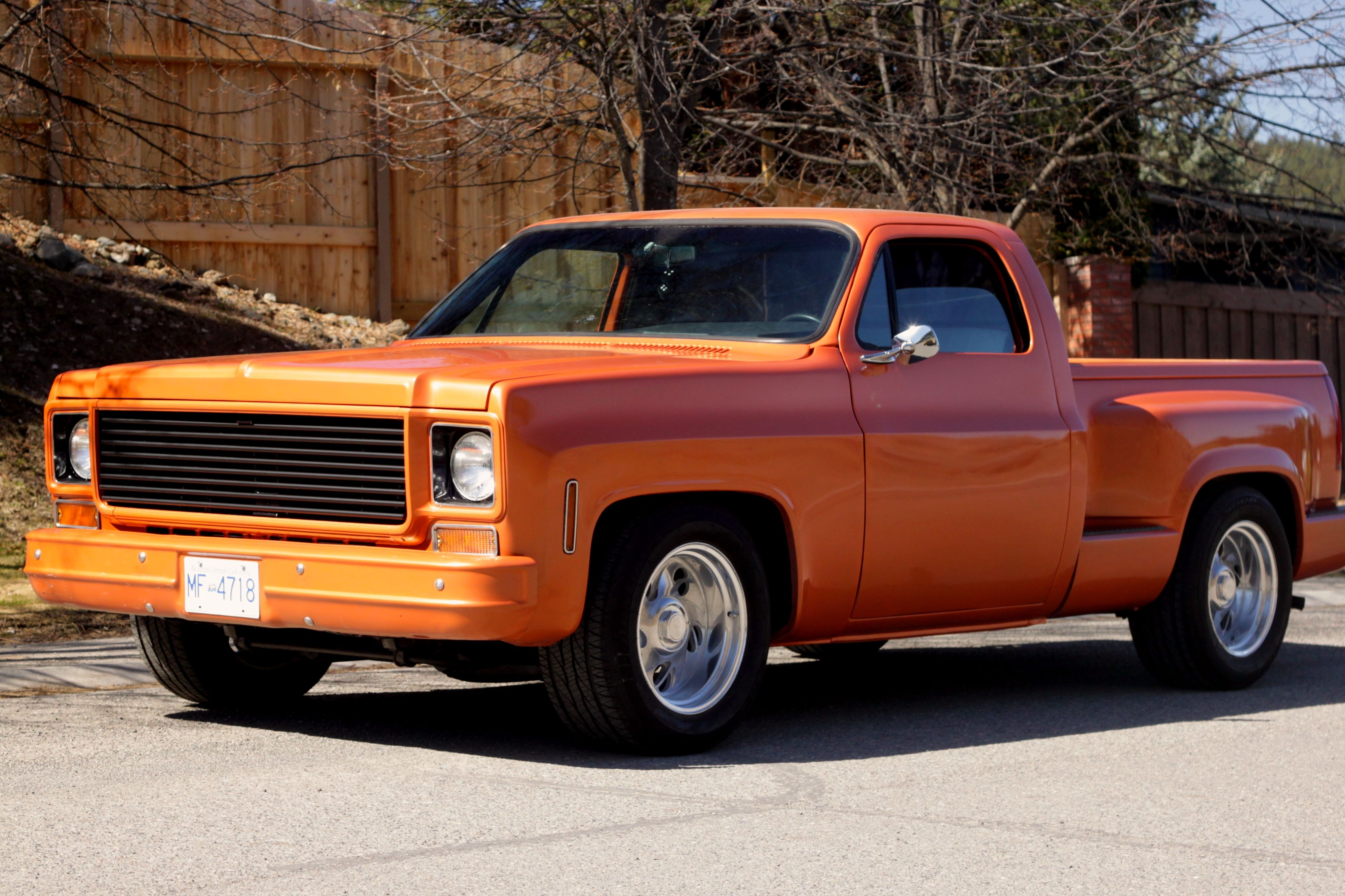 1976 Gmc Custom Chopped Pickup The Rod God Chevy Deluxe Truck