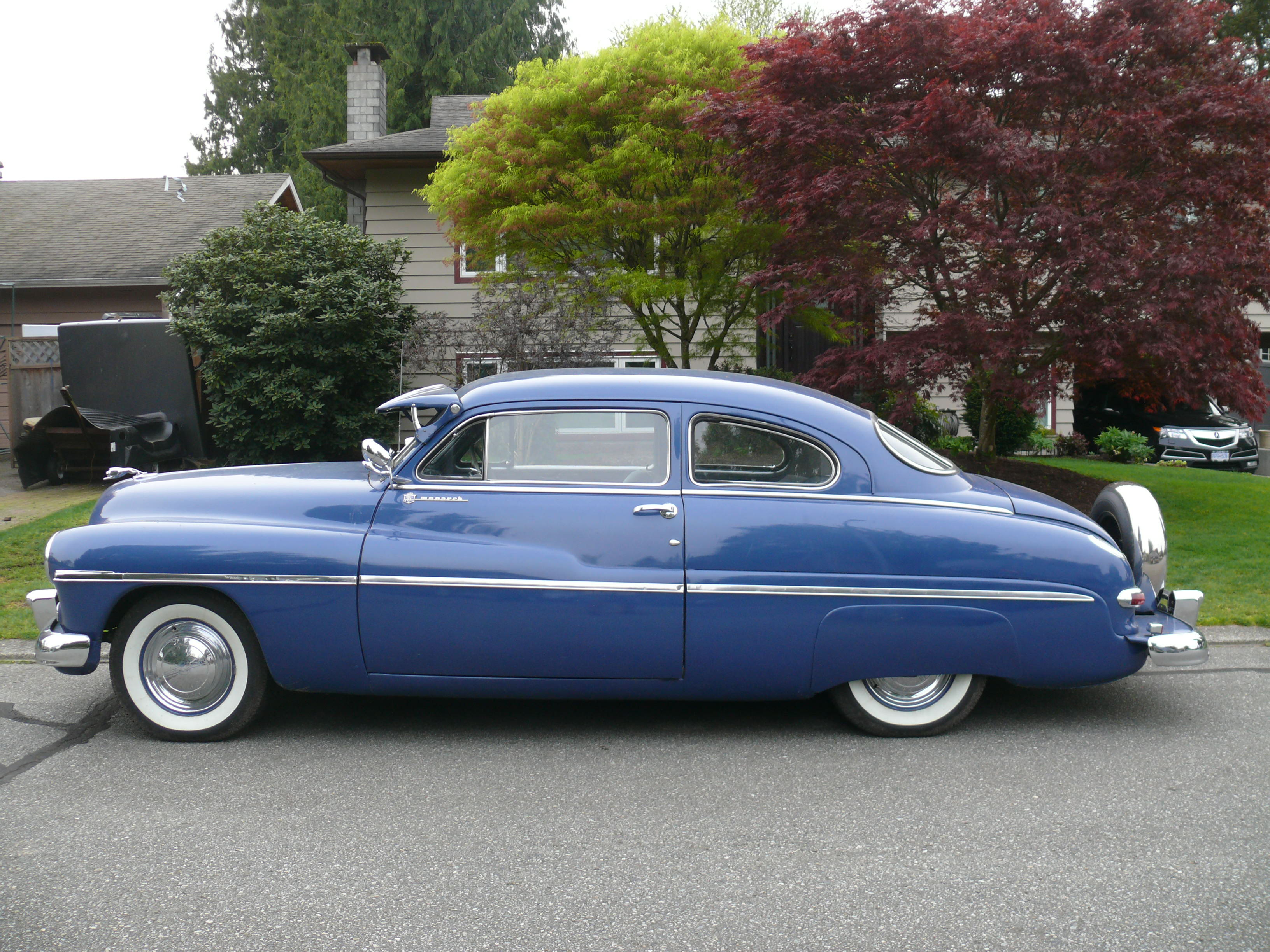 1949 Monarch 2 Door Coupe Mercury The Rod God Ford Hardtop